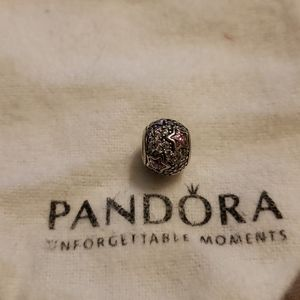 Pandora pink star charm